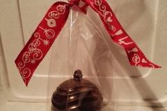 Boule de Noel en chocolat