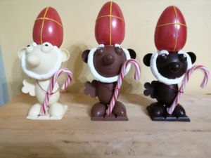 Saint Nicolas en Chocolat artisanal